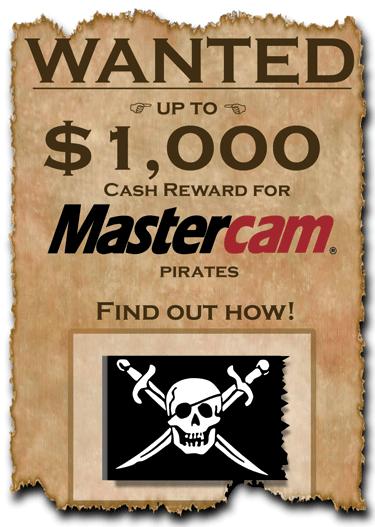 Piracy Postcard