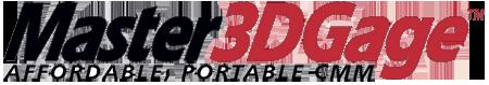 Master3Dgage Logo