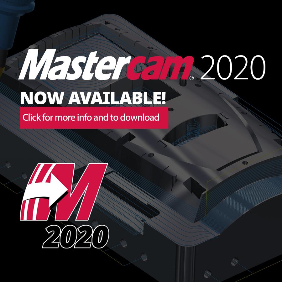 Mastercam 2020 Now Available! | ShopWare Inc